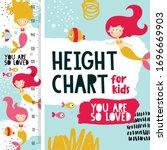 cute marine height chart meter...   Shutterstock .eps vector #1696669903