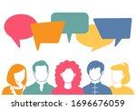 People Avatars With Speech...