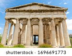 Temple Of Hephaestus In Ancient ...