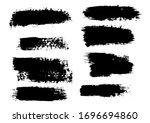 vector brush stroke. grunge... | Shutterstock .eps vector #1696694860