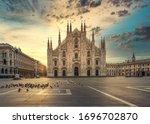 Duomo   Milan Gothic Cathedral...