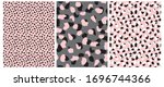 abstract leopard skin seamless... | Shutterstock .eps vector #1696744366