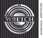 Wretch Silver Shiny Emblem ....
