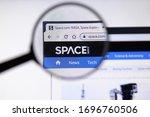 los angeles  california  usa  ... | Shutterstock . vector #1696760506