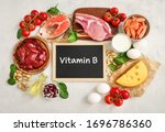 assortment of high vitamin b...