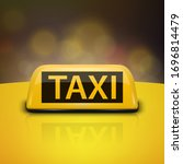 vector 3d realistic yellow...   Shutterstock .eps vector #1696814479
