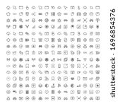 web icon set. collection of...