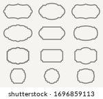 vector illustration of vintage... | Shutterstock .eps vector #1696859113