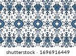 ikat geometric folklore... | Shutterstock .eps vector #1696916449