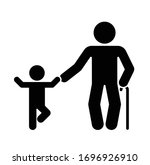 pictogram that represents the... | Shutterstock .eps vector #1696926910