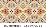 tribal vector ornament.... | Shutterstock .eps vector #1696973716
