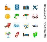 holidays journey design... | Shutterstock .eps vector #169699538