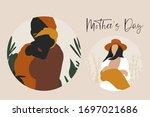 mother's day illustrations.... | Shutterstock .eps vector #1697021686