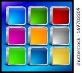 internet web button set | Shutterstock . vector #169703309