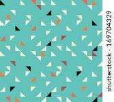 Stock vector seamless geometric pattern 169704329