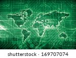 international trade system with ... | Shutterstock . vector #169707074