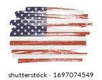 Grunge Flag Of The United...
