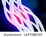 dark pink  blue vector abstract ... | Shutterstock .eps vector #1697088769