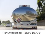 Tanker Truck On The Roads Of...