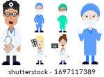 doctor surgeons medical... | Shutterstock .eps vector #1697117389