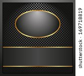 black background with copy space | Shutterstock .eps vector #169718819