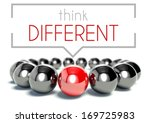 think different business unique ... | Shutterstock . vector #169725983