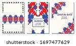 cover royal greeting design.... | Shutterstock .eps vector #1697477629