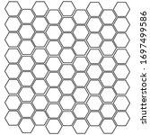 vector seamless pattern. modern ...   Shutterstock .eps vector #1697499586