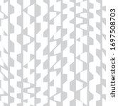 simple seamless geometric... | Shutterstock .eps vector #1697508703