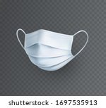 mask isolated on transparent... | Shutterstock .eps vector #1697535913