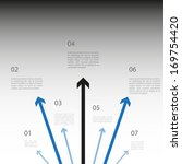 infographics template with... | Shutterstock .eps vector #169754420