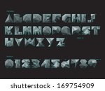three dimension font