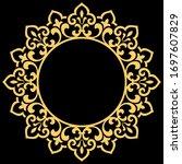 decorative frame elegant vector ...