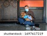 Hungry Sick Homeless Beggar Man ...