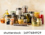 Various Food Supplies Including ...