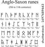 Anglo Saxon Rune Poem Stanza...