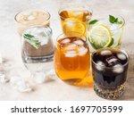 Various Refreshing Drinks In...