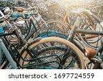 Large Bicycle Parking In...