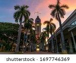 Honolulu Tower During Sunset I...
