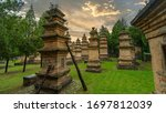 Sunrise At Pagoda Forest At...