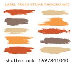 artistic label brush stroke... | Shutterstock .eps vector #1697841040