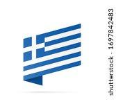 greece flag state symbol...