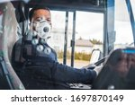 Busdriver With Mask Puts...