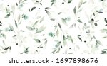 seamless pattern with spring ... | Shutterstock . vector #1697898676