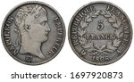France French Silver Coin 5...