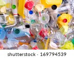 plastic bottles and containers... | Shutterstock . vector #169794539