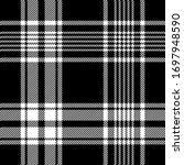 black white plaid pattern... | Shutterstock .eps vector #1697948590