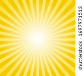 abstract sun rays vector... | Shutterstock .eps vector #1697971513