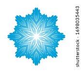 circle snowflake ornaments....   Shutterstock .eps vector #1698035443