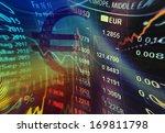 world economics graph. finance... | Shutterstock . vector #169811798